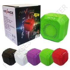 Jual Advance Es010N Speaker Mini Bluetooth Portable Support Handsfree Hijau Original