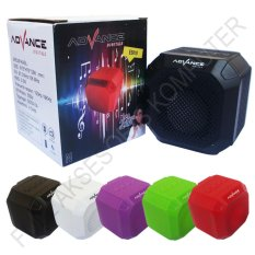 Jual Advance Es010N Speaker Mini Bluetooth Portable Support Handsfree Hitam Branded
