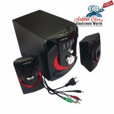 Jual Advance M250Bt Bluetooth Speaker Hitam Red Subwoofer System Advance Grosir