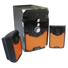 Advance M310BT Speaker Bluetooth Plus Remote - Hitam-Orange