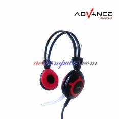 ADVANCE MH-005C Stereo Headset Powerfull Bass