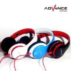 ADVANCE MH-033 Stereo Headphones Powerfull Bass