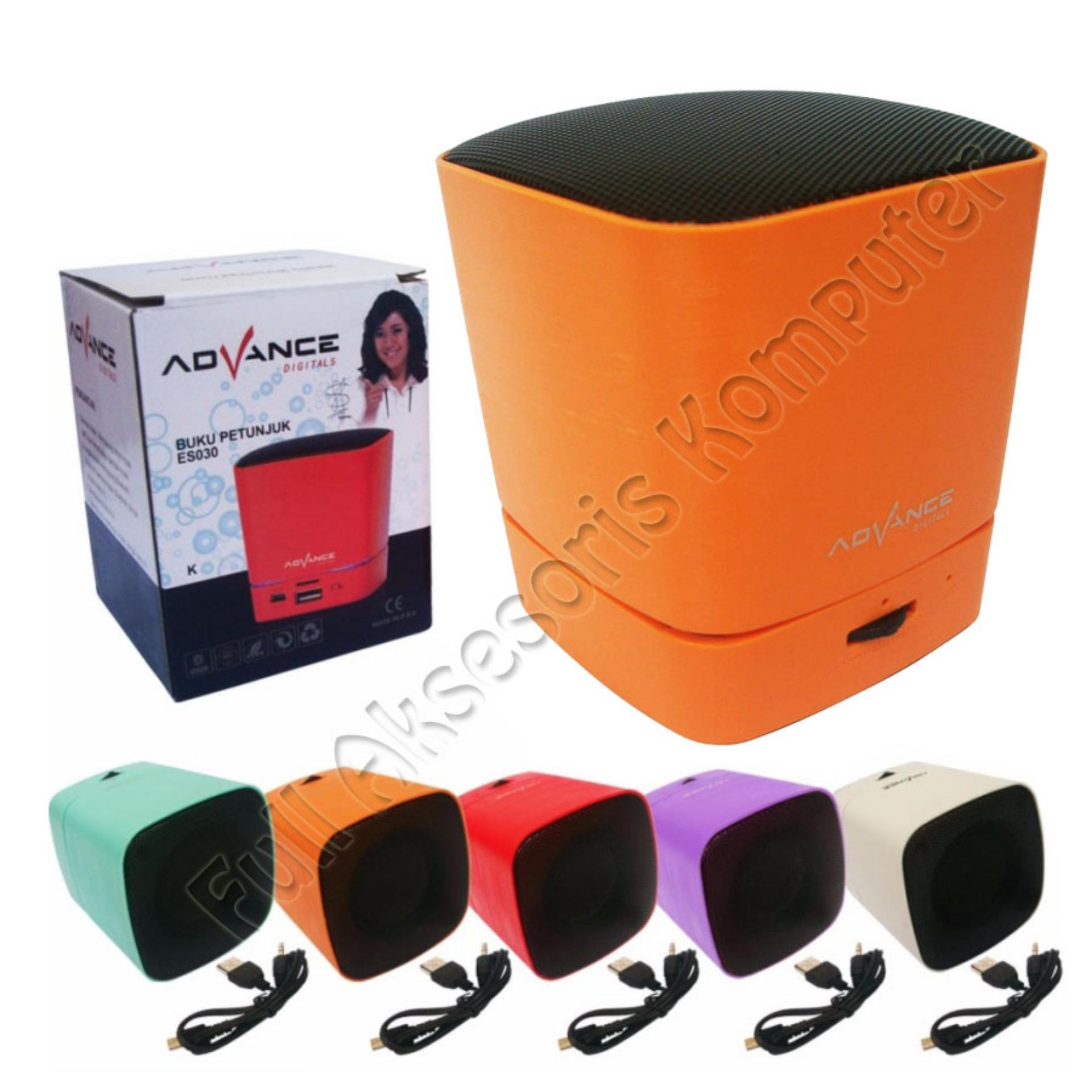 Beli Advance Mini Speaker Portable Bluetooth Es030K Orange Yang Bagus