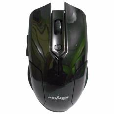 Harga Advance Mouse Wireless Wm501 B Terbaik