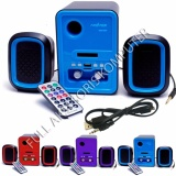 Promo Advance Duo 200 Multimedia Speaker With Remote Biru