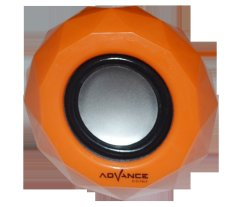 Jual Advance Speaker A 40 Portable Oranye Advance Asli