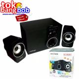 Promo Advance Speaker Bluetooth Active Subwoofer System M180 Bt Black Murah