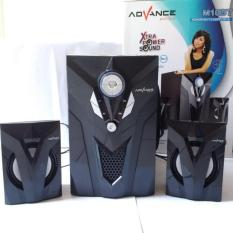 Advance Speaker Bluetooth Subwoofer M10BT - Hitam