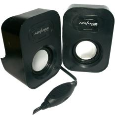 Harga Advance Speaker Duo 026 Hitam Murah