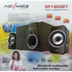Advance Speaker M180 Bluetooth Satelit and Subwoofer Speaker - Hitam