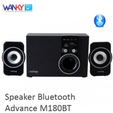 Advance Speaker M180BT Bluetooth Multimedia Satelit and Subwoofer Speaker
