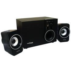 Advance Speaker M180BT Bluetooth Multimedia Subwoofer Power Listrik - Hitam