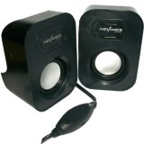 Kualitas Advance Speaker Mini Duo Woofer Stereo Advance