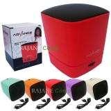 Toko Advance Speaker Portable Bluetooth Plus Fm Radio Es030K Merah Terlengkap
