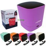 Spesifikasi Advance Speaker Portable Bluetooth Plus Fm Radio Es030K Ungu Online