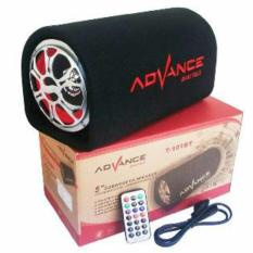 Promo Advance Speaker Subwoofer T 101 Bluetrooth Hitam