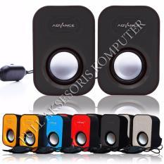 ADVANCE Speaker USB Duo-026 - Hitam