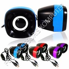 Advance Speaker USB Duo-040 - Biru
