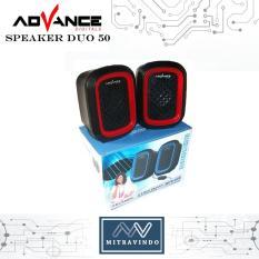 Advance Speaker USB Multimedia Duo 50  - New