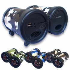 Review Advance Tentara Tp 200Bt Speaker Bluetooth Portable Hitam