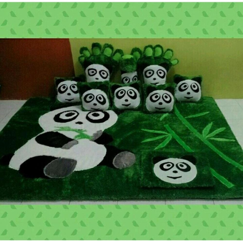 Spesifikasi Adzkia35 Kasur Karpet Karakter Panda Standart Dan Harga