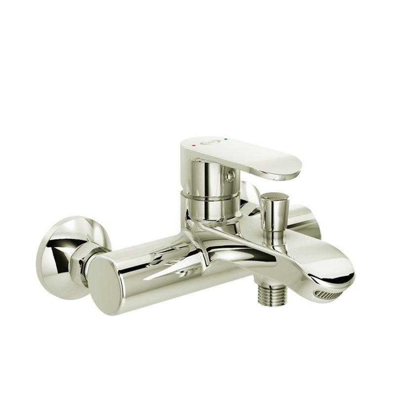 Diskon Aer Kran Bathub Shower Keran Air Panas Dingin Kuningan Brass Mixer Bathub Shower Faucet Sas Bx2 Akhir Tahun