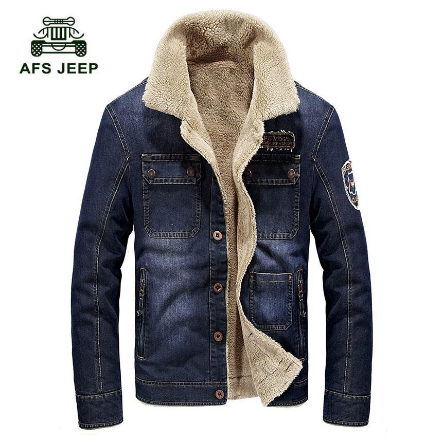 Harga Afs Jeep Jaket Pemuda Pria Winter Fashion Casual Koboi Mantel Intl Seken