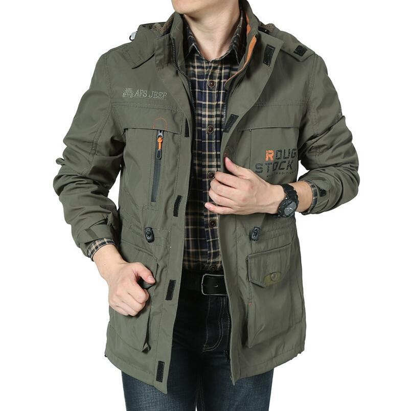 Diskon Afs Jeep Outdoor Men S Single Lapisan Tipis Tahan Air Jaket Green Intl Akhir Tahun
