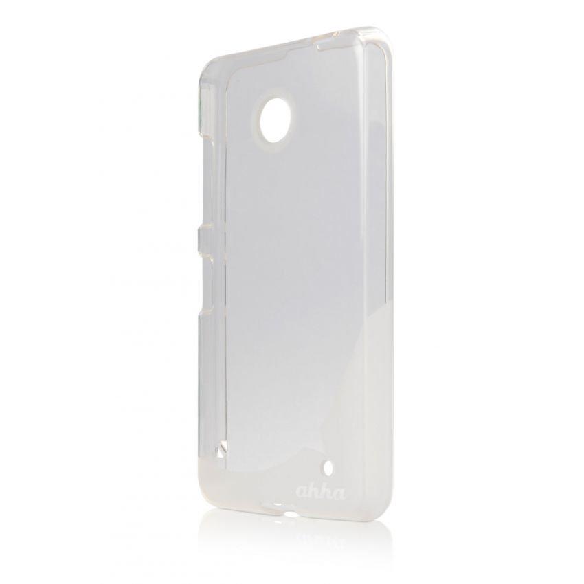 Ahha Moya Gummishell for Nokia Lumia 630 Case - Clear