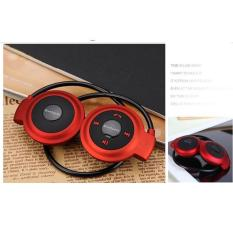 Harga Ai Home Mini Nirkabel Bluetooth Headset Headphone Sport Stereo Earphone Merah Origin