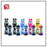 Promo Toko Aiflo 664 Paket Kombinasi 5 Tinta Printer For Epson L100 L200 L350 100Ml
