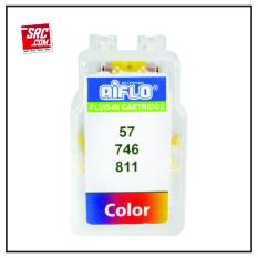AIFLO Canon Plug-in 811 Colour Smart Cartridge Printer Inkjet iP2770 MP237