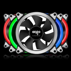 Harga Aigo Rgb Case Cooling Fan 120Mm 6Pin Silent Fan Dengan Led Ring Adjustable Color Case Radiator Fan Air Komputer Cooler Fan 12 Cm 3 Pieces Rgb Fan 6Pin Controller Intl Merk Oem