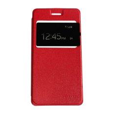 Aimi Andromax E2 Plus Flipshell / Flipcover / Leather Case / Sarung Case - Merah