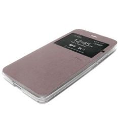 AIMI uma dompet samsung mega2 Flipcover Flipshell Samsung Galaxy Mega 2 5.9 inci G7508 - coklat