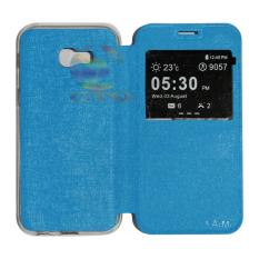 AIMI Flipcover Kulit For Samsung Galaxy A7 2017 A720 Flipshell / Leather Case / Flip Cover ...
