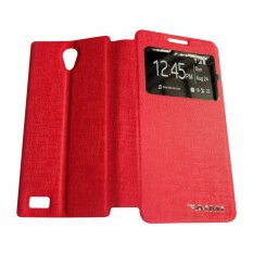 AIMI Flipcover Untuk Oppo Joy 3 A11W Flipshell / Flipcover / Sarung Case - Merah