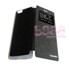 Aimi Oppo R1X / Oppo R8207 / Oppo 8201 Flipshell / Flipcover Oppo R1X / Leather Case / Sarung Handphone / Sarung HP Oppo - Hitam