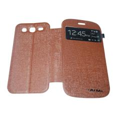 AIMI Leather Cover For Samsung Galaxy Grand Prime G530 Flipshell / Leather Case / Flip Cover Kulit