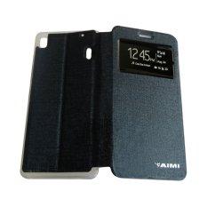 Aimi Lenovo A7000 / K3 Note Flipshell / Flipcover / Sarung Case - Biru Tua