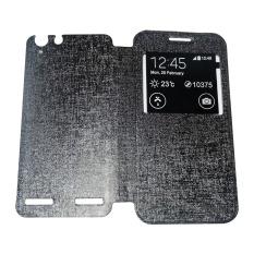Aimi Lenovo Vibe K5 Plus Flipshell/ Flipcover/Sarung Case - Hitam