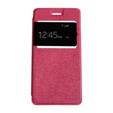Aimi Oppo F1s / A59 Flipshell / Flipcover / Sarung Case / Smartphone Cover - Pink
