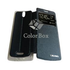 Aimi Oppo Mirror 3 / Oppo Mirror3 / Oppo R3007 Flipshell / Flip Cover / Leather Case / Sarung Case / Sarung HP Oppo Mirror 3 - Biru Tua