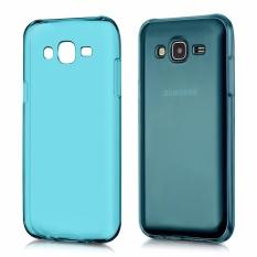 Aimi Ultrathin Case Samsung Galaxy J1 Mini Prime / Samsung Galaxy V2 Luxury Softcase Anti Jamur Air Case 0.3mm / Silicone Samsung Galaxy J1 Mini Prime / Samsung Galaxy V2 / Soft Case / Silikon / Case Hp / Jelly Case / Softshell - Biru Transparant