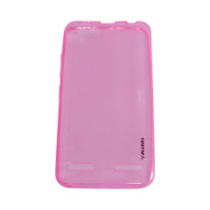 AIMI Ultrathin Soft Case (Anti Jamur) For Lenovo Vibe K5/K5 PLUS UltraFit Air Case / Jelly case / Soft Case - Pink