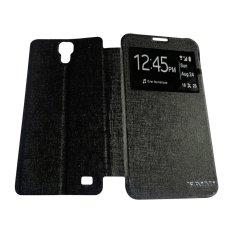 Aimi Untuk Samsung Galaxy G7508 / Mega 2 Flipshell / Flipcover / Sarung Case - Hitam