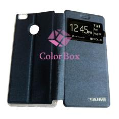 Aimi Xiaomi MI 4S / Xiaomi MI4S Flip Cover / Flipshell Aimi Xiaomi MI 4S / Leather Case / Sarung HP Xiaomi - Biru Tua