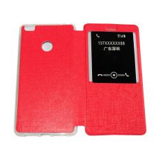 Aimi Xiaomi Mi Max Flipshell / Flipcover / Sarung Case / Cover Handphone - Merah