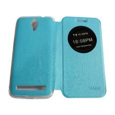 Aimi sarung dompet Zenfone C ZC451CG Flipshell/ Flipcover / Sarung Case - Biru Muda