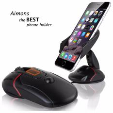 Aimons Deformable Car Smartphone Mouse Holder - Phone Holder Bentuk Mouse
